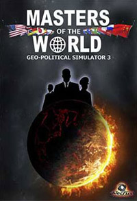 Game Box for Masters of the World: Geo-Political Simulator 3 (PC)
