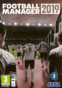 Game Box for Football Manager 2019 (PC)