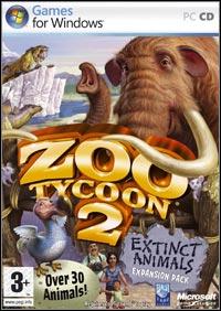 Okładka Zoo Tycoon 2: Extinct Animals (PC)