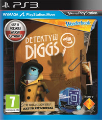 Okładka Wonderbook: Diggs Nightcrawler (PS3)