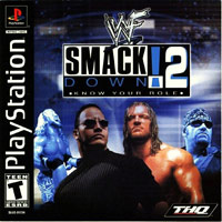 Game Box for WWF SmackDown! 2: Know Your Role (PS1)