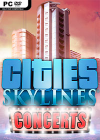 Game Box for Cities: Skylines - Concerts (PC)