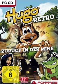 Okładka Hugo Retro: Zurück in der Mine (PC)