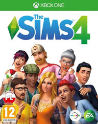 Game The Sims 4 (PC) cover