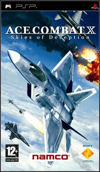 Game Box for Ace Combat X: Skies of Deception (PSP)