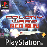 Game Box for Colony Wars: Red Sun (PS1)