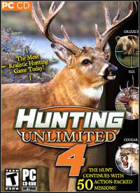 Game Box for Hunting Unlimited 4 (PC)