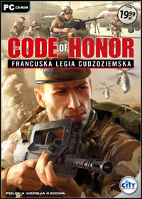Okładka Code of Honor: The French Foreign Legion (PC)