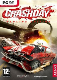 Game Box for Crashday Redline Edition (PC)