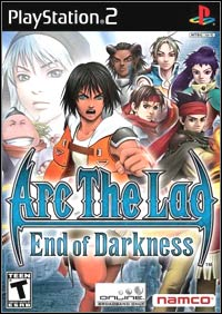 Okładka Arc the Lad: End of Darkness (PS2)