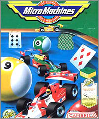 Okładka Micro Machines (1994) (PC)