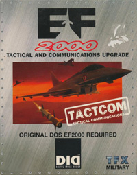 Okładka EF2000: TACTCOM (PC)