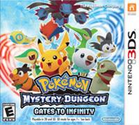 Okładka Pokemon Mystery Dungeon: Gates to Infinity (3DS)