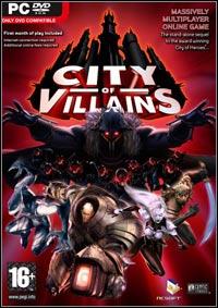 Okładka City of Villains (PC)