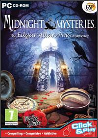 Okładka Midnight Mysteries: The Edgar Allan Poe Conspiracy (PC)
