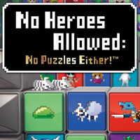 Okładka No Heroes Allowed: No Puzzles Either! (PSV)
