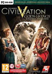 Okładka Sid Meier's Civilization V: Gods & Kings (PC)