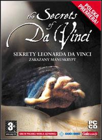 Okładka The Secrets of Da Vinci: The Forbidden Manuscript (PC)