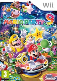Game Box for Mario Party 9 (Wii)