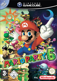Okładka Mario Party 6 (GCN)