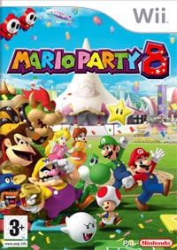 Game Box for Mario Party 8 (Wii)