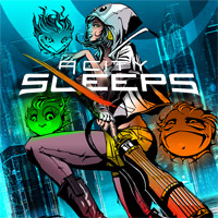 Game Box for A City Sleeps (PC)