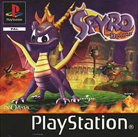 Game Box for Spyro the Dragon (PS1)