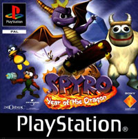 Game Box for Spyro: Year of the Dragon (PS1)