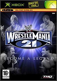 Okładka WWE WrestleMania 21 (XBOX)