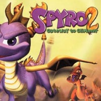 Game Box for Spyro 2: Ripto's Rage! (PS1)