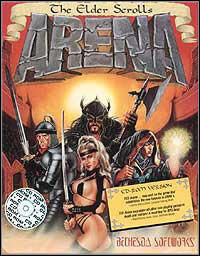 Okładka The Elder Scrolls: Arena (PC)