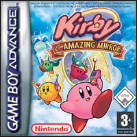 Game Box for Kirby & the Amazing Mirror (GBA)