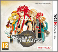 Okładka Tales of the Abyss 3D (3DS)