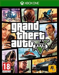 Game Grand Theft Auto V (PS4) cover