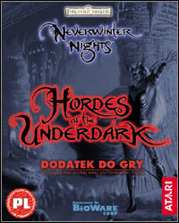 Okładka Neverwinter Nights: Hordes of the Underdark (PC)