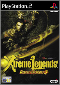Okładka Dynasty Warriors 3: Xtreme Legends (PS2)