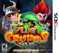 Okładka Planet Crashers 3D (3DS)