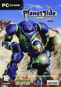 Okładka PlanetSide (PC)
