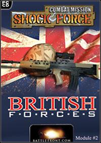 Okładka Combat Mission: Shock Force - British Forces (PC)