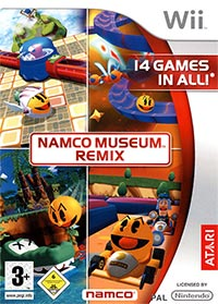 Okładka Namco Museum Remix (Wii)