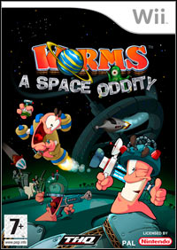 Game Box for Worms: A Space Oddity (Wii)