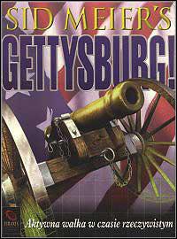 Okładka Sid Meier's Gettysburg (PC)