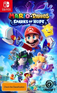 Mario + Rabbids: Sparks of Hope (Switch cover