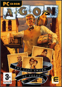 Okładka Agon: Lost Sword of Toledo (PC)