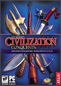 Okładka Sid Meier's Civilization III: Conquests (PC)
