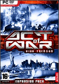 Okładka Act of War: High Treason (PC)