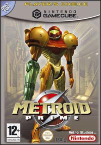 Game Box for Metroid Prime (GCN)