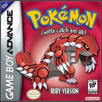 Game Box for Pokemon Ruby (GBA)