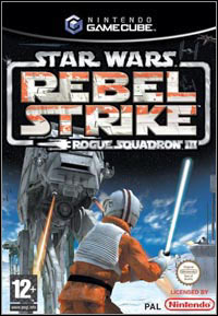 Game Box for Star Wars: Rogue Squadron III: Rebel Strike (GCN)