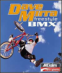 Game Box for Dave Mirra Freestyle BMX (PC)